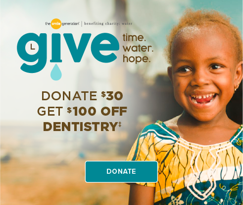 Donate $30, Get $100 Off Dentistry - Southcenter Modern Dentistry
